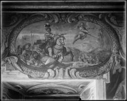 Antonio Palomino: Historia de las Navas de Tolosa en el Oratorio de la Casa de la Villa de Madrid.