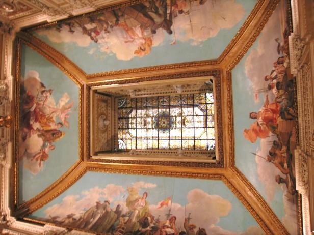 Sans Cabot: Alegorías de Cuba y Filipinas. Vidriera de la casa Maumejean