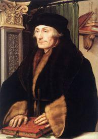 Hans Holbein: Erasmo de Roterdam. Londres, National Gallery.