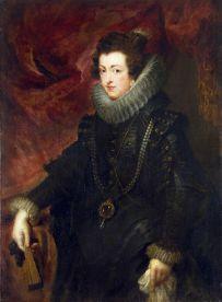 Pedro Pablo Rubens?: Retrato de Isabel de Borbón. San Petersburgo, Museo del Hermitage.