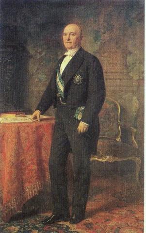 Federico de Madrazo: Retrato del marqués de Manzanedo. Cámara de Comercio de Madrid