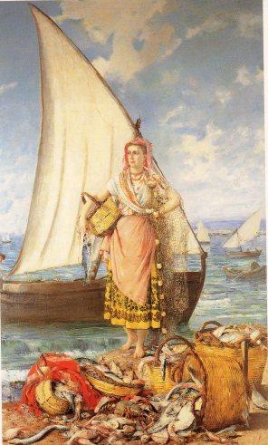 R. Olavide: Alegoría de la pesca