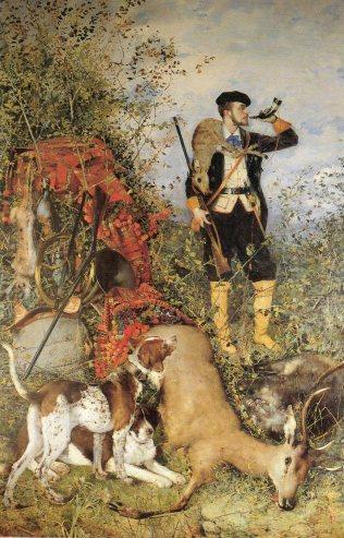 R. Olavide: Alegoría de la caza
