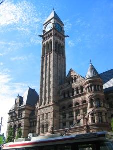E.J. Lennox: Vista del antiguo Ayuntamiento de Toronto.