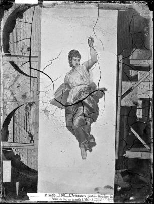 J. Laurent. Alegoría de la Arquitectura de Sans Cabot
