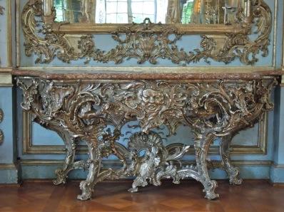 Consola del Salón de los Espejos del Amaliemburg.