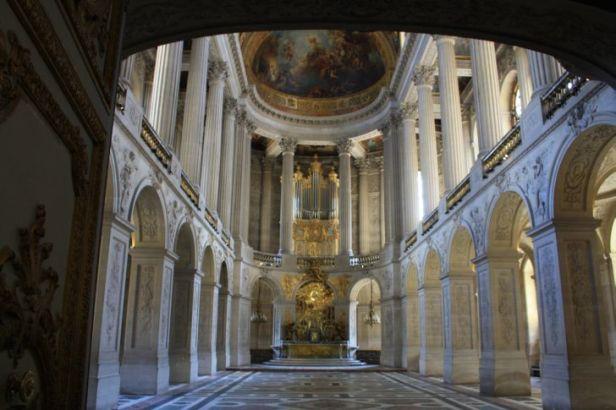Capilla del Palacio de Versalles. Foto: versalles.org