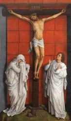 Rogier van der Weiden. Calvario. ca.1457-64. Patrimonio Nacional.