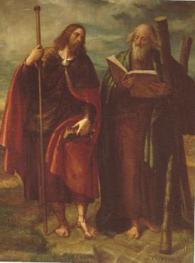 Navarrete, Santiago y San Andrés, Monasterio de El Escorial