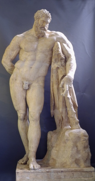 Cesare Sebastiani y Giovanni Finelli: Hércules Farnese, 1653. Madrid, Real Academia de Bellas Artes de San Fernando.
