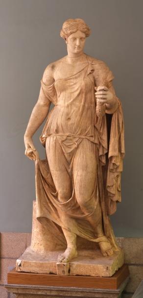 Cesare Sebastiani y Giovanni Finelli: Flora Farnese, 1653. Madrid, Real Academia de Bellas Artes de San Fernando.