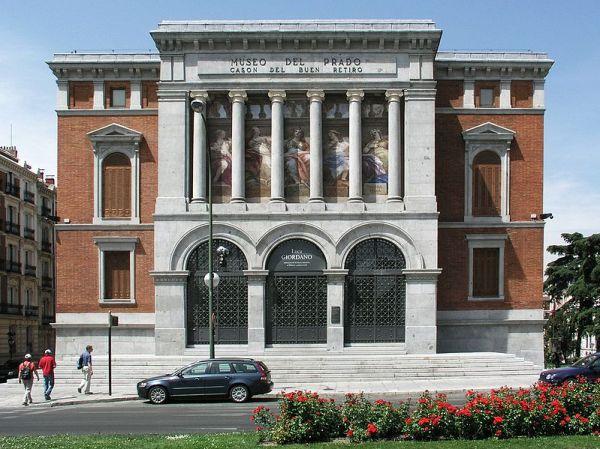 Casón del Buen Retiro, sede del Centro de Estudios del Museo Nacional del Prado.