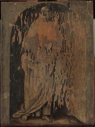 Lucas Cranach el viejo: Reverso de la tabla. New York, Metropolitan Museum.