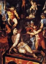 TIBALDI, Pellegrino, Martirio de San Lorenzo, 1592, 419 x 315 cm, Monasterio de San Lorenzo, El Escorial