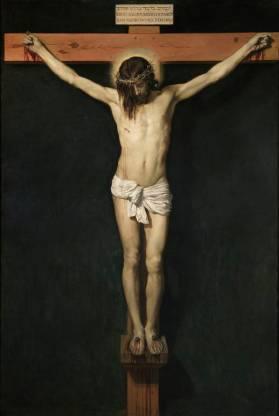 Diego Velázquez: Cristo crucificado. Museo del Prado