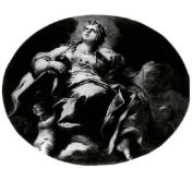 Luca Giordano: Supuesta alegoría de la Fe. Mercado del arte italiano.