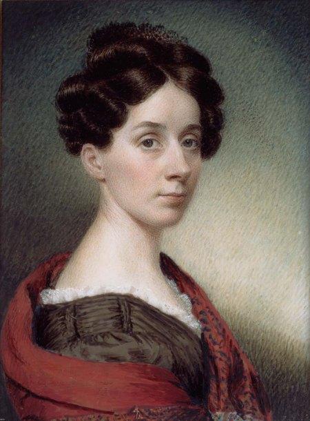 Sarah Goodridge: Autorretrato. Museo de Bellas Artes de Boston.
