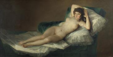 Francisco de Goya: La maja desnuda. Museo del Prado