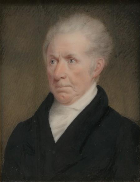 Sarah Goodridge: Retrato de Gilbert Stuart. Metropolitan Musem, Nueva York.