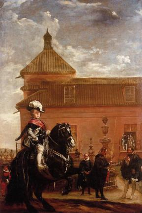 Diego Velázquez: La lección de equitación del príncipe Baltasar Carlor. Col. Privada