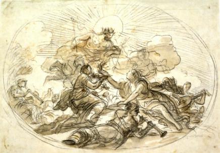 Luca Giordano: Sacrificio al Sol ?. Londres, The British Museum.