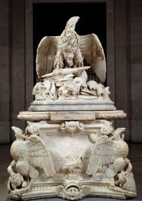 Anónimo Romano, Orfeo Boselli y Andrea Calamecca: Apoteosis de Claudio. Madrid, Museo Nacional del Prado.