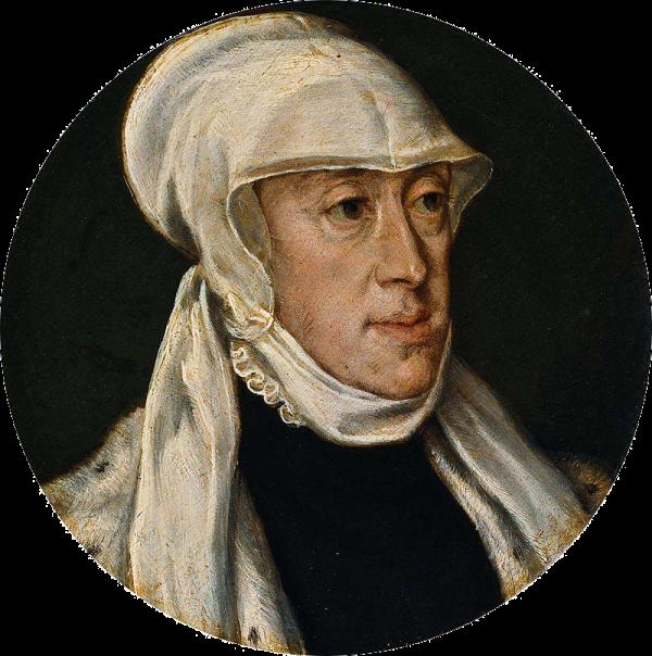 Tiziano: María de Hungría. Amsterdam, Rijksmuseum.