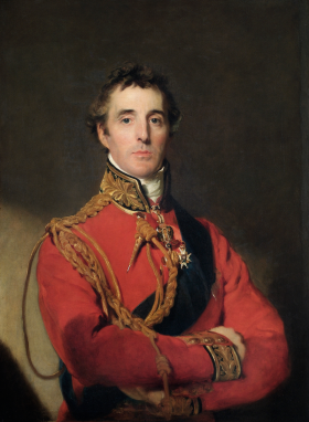 Thomas Lawrence: Arthur Wellesley, Primer Duque de Wellington. Londres, Apsley House.
