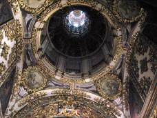 Claudio Coello y Dionisio Mantuano: Pinturas de la cúpula de la Capilla del Cristo de la Buena Muerte. Colegiata San Isidro de Madrid.