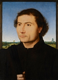 Hans Memling: Retrato de Hombre. The Frick Collection.