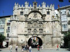 Arco de Santa María. Burgos.