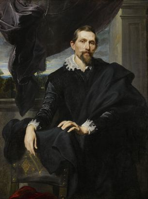 Anton Van Dyck: Retrato de Frans Snyders. The Frick Collection.