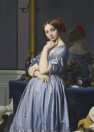Jean Auguste Dominique Ingres: Retrato de la Condesa D'Haussonville. The Frick Collection.