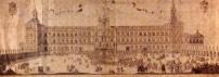F. Pallota. Fachada y plaza del Alcázar de Madrid. 1704. Madrid. Museo de Historia