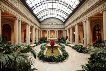 Jardín interior. The Frick Collection.