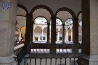 Vista de los Patios del Palacio de Santa Cruz. foto: Jesús C. V.