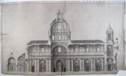 Julián Sánchez Bort: Templo magnífico en honor del Santo Rey D. Fernando. 1753. Sección. RABASF