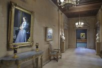 Hall norte junto a la galería oeste. The Frick Collection.