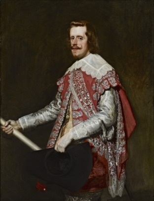 Diego Rodríguez de Silva y Velázquez: Felipe IV en Fraga. The Frick Collection.