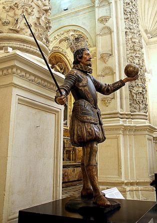 Pedro Roldán: San Fernando. Sacristía de la Cat. de Sevilla. foto: Wikipedia