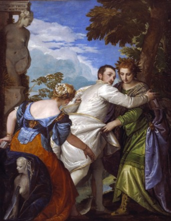 Paolo Veronese: Alegoría de la Virtud y el Vicio. The Frick Collection.