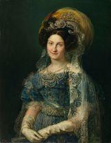 Vicente López: María Cristina de Borbón. Museo del Prado