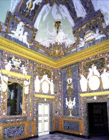 Vista del Salón de estucos de la Casa de campo del Príncipe de El Pardo.