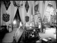 Exposición General de Filipinas. Vista de una de las salas. 1887. foto: IPCE