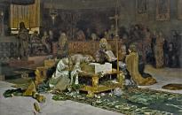Antonio Muñoz Degrain: Los amantes de Teruel. 1884. Museo del Prado.