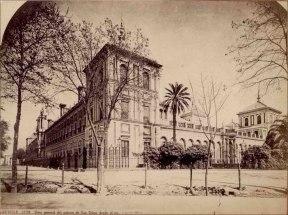 J. Laurent: Vista del Palacio de San Telmo. Fondo IPHE.