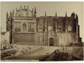J. Laurent: Vista de San Juan de los Reyes de Toledo. Fondo IPHE.