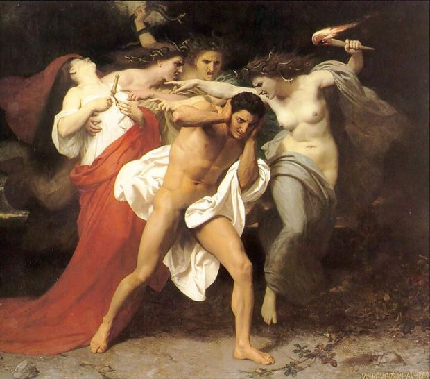 679px-William-Adolphe_Bouguereau_(1825-1905)_-_The_Remorse_of_Orestes_(1862)