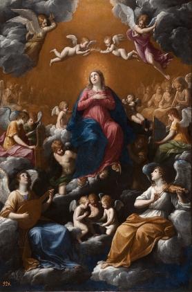 Guido Reni: Asunción de la Virgen. Museo Nacional del Prado.