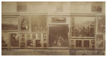 J. Laurent: Vista de la Sala Grande del Museo del Prado. Foto Museo del Prado.